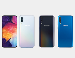 Samsung Galaxy A30 A305G/DS Dual Camera 64GB/4GB Factory Unlocked - Black- MyWorldPhone.com