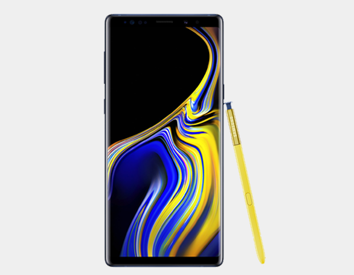Samsung Note 9 N9600 Dual SIM 512GB/8GB GSM Factory Unlocked - Ocean Blue- MyWorldPhone.com
