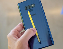 Load image into Gallery viewer, Samsung Note 9 N960F/DS Dual SIM 128GB/6GB GSM Factory Unlocked - Ocean Blue- MyWorldPhone.com