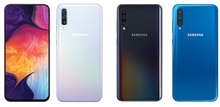 Load image into Gallery viewer, Samsung Galaxy A30 A305G/DS Dual Camera 32GB/3GB Factory Unlocked - Blue- MyWorldPhone.com