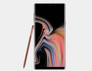 Samsung Note 9 N960F/DS Dual SIM 128GB/6GB GSM Factory Unlocked - Metallic Copper- MyWorldPhone.com