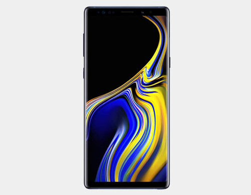 Samsung Note 9 N960F Dual SIM 512GB/8GB GSM Factory Unlocked - Ocean Blue- MyWorldPhone.com