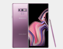 Load image into Gallery viewer, Samsung Note 9 N9600 Dual SIM 128GB/6GB GSM Factory Unlocked - Lavender Purple- MyWorldPhone.com