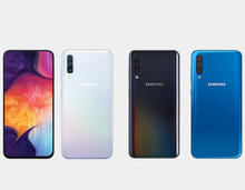 Load image into Gallery viewer, Samsung Galaxy A30 A305G/DS Dual Camera 64GB/4GB Factory Unlocked - White- MyWorldPhone.com