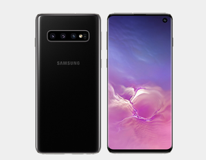 Samsung Galaxy S10 SM-G973F/DS 128GB+8GB Dual SIM Factory Unlocked (Prism Black) - MyWorldPhone.com