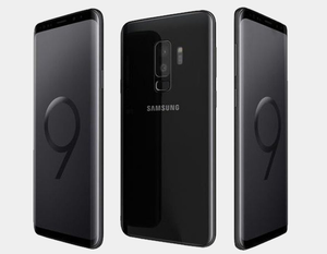 Samsung Galaxy S9+ 64GB 6GB SS G9650 Factory Unlocked (Midnight Black)- MyWorldPhone.com