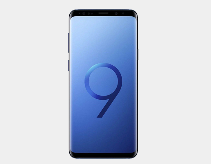 Samsung Galaxy S9+ 64GB DS G965F Factory Unlocked (Coral Blue)- MyWorldPhone.com