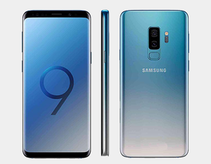 Samsung Galaxy S9+ 64GB DS G965F Factory Unlocked (Coral Blue) - MyWorldPhone.com
