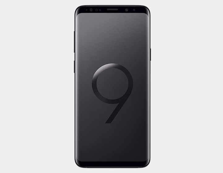 Samsung Galaxy S9+ 128GB DS G965F Factory Unlocked (Midnight Black)- MyWorldPhone.com