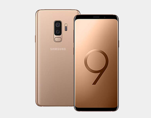 "Samsung Galaxy S9 (2018) G9600 SS 64GB/4GB 5.8"" GSM Factory Unlocked - Sunrise Gold- MyWorldPhone.com"