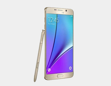 "Load image into Gallery viewer, Samsung Galaxy Note 5 (2015) N9200 DS 32GB/4GB 5.7"" GSM Factory Unlocked - Gold- MyWorldPhone.com"