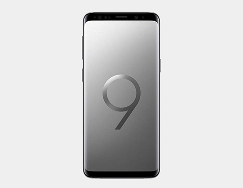Samsung Galaxy S9+ 64GB DS G965F Factory Unlocked (Titanium Gray)