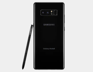 Samsung Note 8 N950F SS 64GB GSM Unlocked International - Midnight Black- MyWorldPhone.com