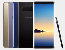Load image into Gallery viewer, Samsung Note 8 N950F SS 64GB GSM Unlocked International - Midnight Black- MyWorldPhone.com