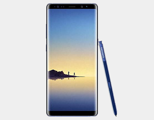 Samsung Note 8 SM-N9500 256GB/6GB GSM Unlocked - Deepsea Blue- MyWorldPhone.com