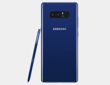Load image into Gallery viewer, Samsung Note 8 SM-N9500 128GB/6GB GSM Unlocked - Deepsea Blue- MyWorldPhone.com