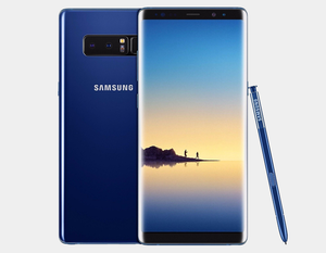Samsung Note 8 SM-N9500 128GB/6GB GSM Unlocked - Deepsea Blue- MyWorldPhone.com