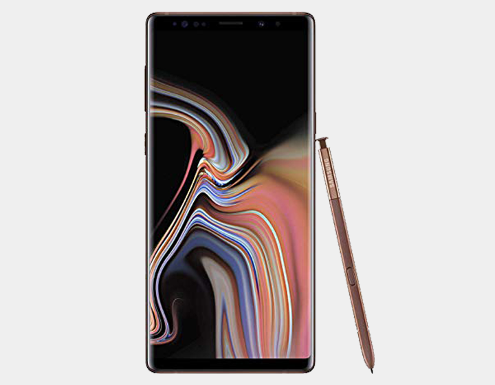 Samsung Note 9 N960F Dual SIM 512GB/8GB GSM Factory Unlocked - Metallic Copper