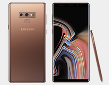 Load image into Gallery viewer, Samsung Note 9 N960F Dual SIM 512GB/8GB GSM Factory Unlocked - Metallic Copper - MyWorldPhone.com