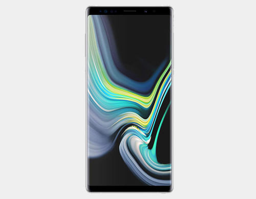 Samsung Note 9 N960F/DS Dual SIM 128GB/6GB GSM Factory Unlocked - Alpine White- MyWorldPhone.com