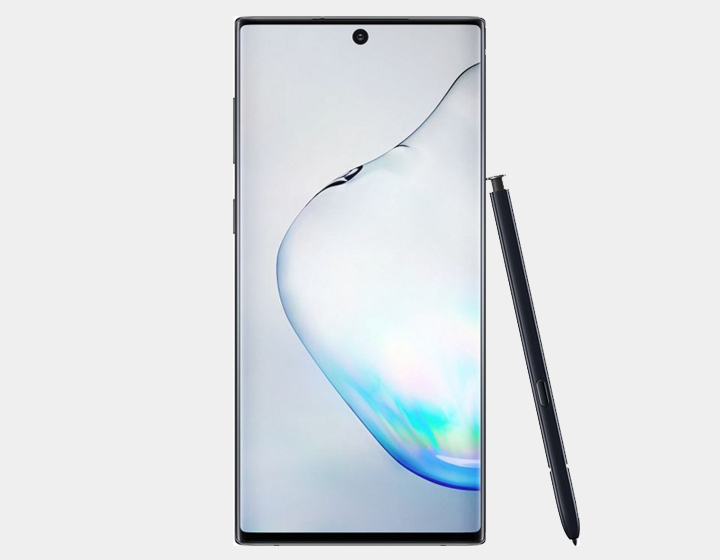 Samsung Galaxy Note 10 SM-N970F/DS 256GB 8GB RAM Factory Unlocked GSM - Aura Black