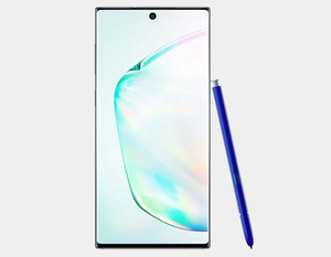 Samsung Galaxy Note 10 SM-N970F/DS 256GB 8GB RAM Factory Unlocked GSM - Aura Glow- MyWorldPhone.com