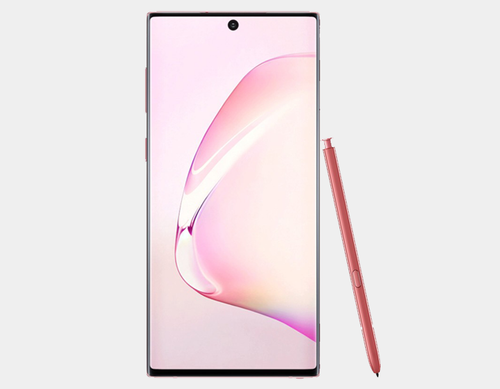 Samsung Galaxy Note 10 SM-N970F/DS 256GB 8GB RAM Factory Unlocked GSM - Aura Pink - MyWorldPhone.com