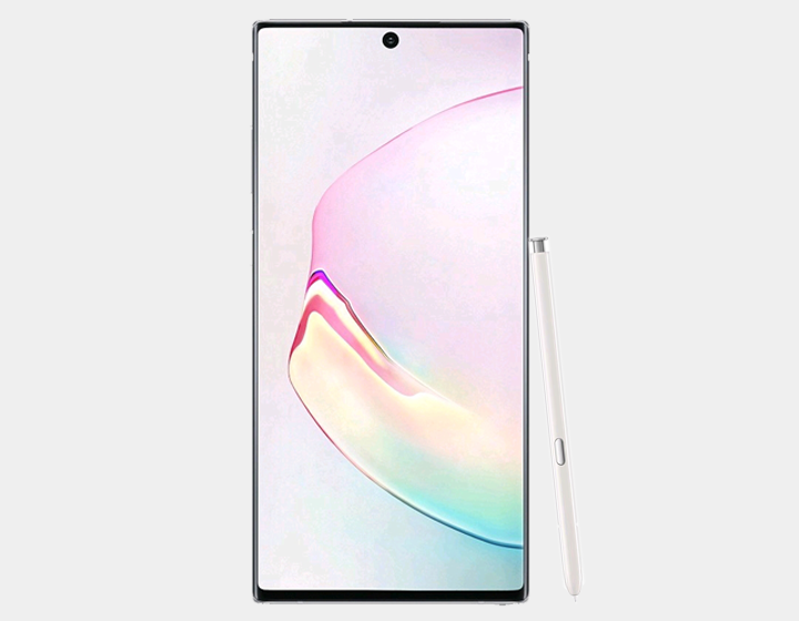 Samsung Galaxy Note 10 Plus (SM-N9750/DS) Dual SIM 256GB/12GB, GSM Factory unlocked - Aura White