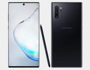 Samsung Galaxy Note 10+ N975F/DS 256GB, 12GB RAM,Dual SIM , Factory Unlocked -  (Aura Black)- MyWorldPhone.com