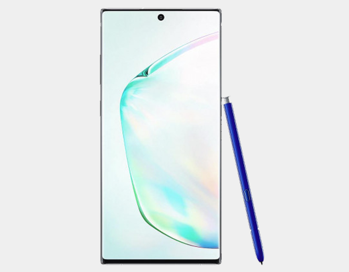 Samsung Galaxy Note 10+ N975F/DS 256GB, 12GB RAM,Dual SIM , Factory Unlocked -  (Aura Glow)