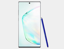 Load image into Gallery viewer, Samsung Galaxy Note 10+ N975F/DS 256GB, 12GB RAM,Dual SIM , Factory Unlocked -  (Aura Glow)- MyWorldPhone.com