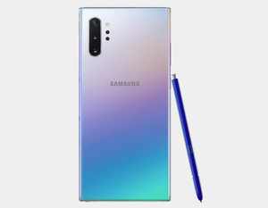 Samsung Galaxy Note 10+ N975F/DS 256GB, 12GB RAM,Dual SIM , Factory Unlocked -  (Aura Glow)- MyWorldPhone.com