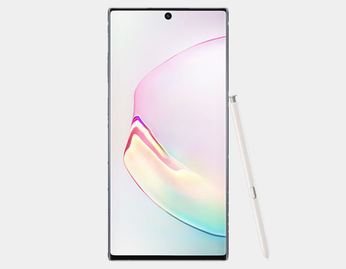 Samsung Galaxy Note 10+ N975F/DS 256GB, 12GB RAM,Dual SIM , Factory Unlocked -  (Aura White)