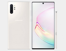 Load image into Gallery viewer, Samsung Galaxy Note 10+ N975F/DS 256GB, 12GB RAM,Dual SIM , Factory Unlocked -  (Aura White)- MyWorldPhone.com