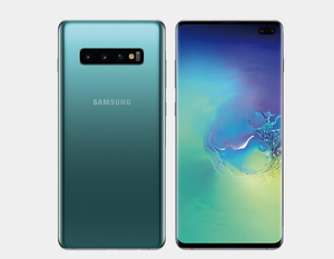 Samsung Galaxy S10+ SM-G975F/DS 128GB+8GB Dual SIM Factory Unlocked (Prism Green)- MyWorldPhone.com