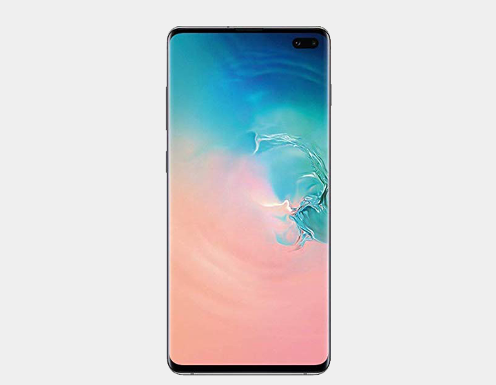 Samsung Galaxy S10+ SM-G975F/DS 128GB+8GB Dual SIM Factory Unlocked (Prism White)