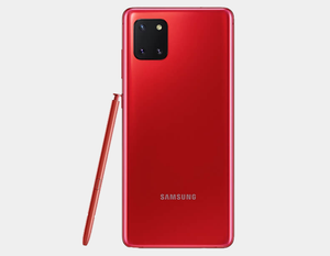 Samsung Galaxy Note 10 Lite N770F 128GB+8GB Dual SIM Factory Unlocked - Aura Red
