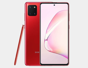 Samsung Galaxy Note 10 Lite N770F 128GB+6GB Dual SIM Factory Unlocked - Aura Red