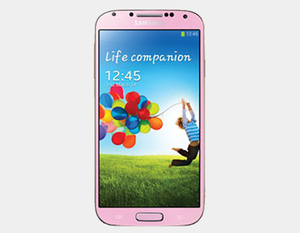 "Samsung Galaxy S4 (2013) GT-I9500 16GB/2GB 5.0"" GSM Factory Unlocked - Pink- MyWorldPhone.com"