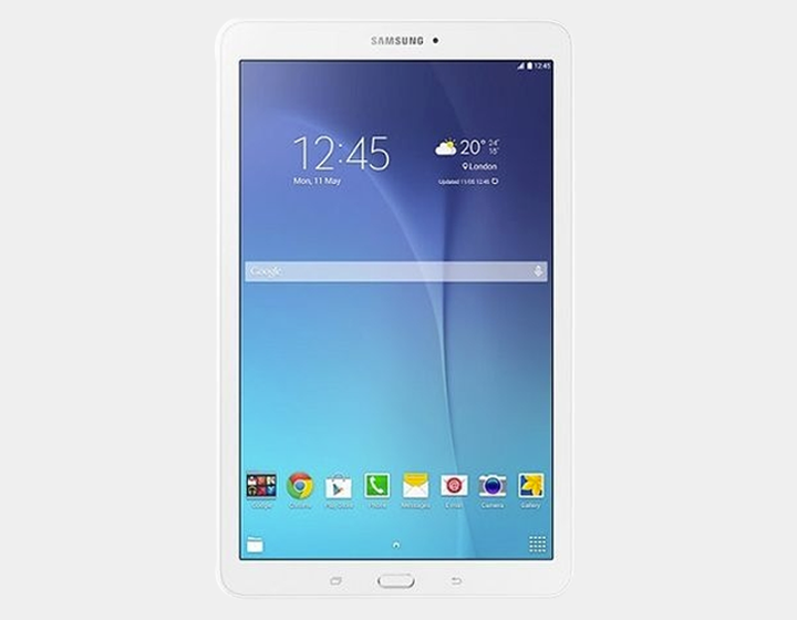 "Samsung Galaxy Tab E T561 WiFi + 3G 8GB/1.5GB 9.6"" GSM Factory Unlocked - White"