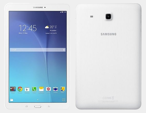 "Samsung Galaxy Tab E T561 WiFi + 3G 8GB/1.5GB 9.6"" GSM Factory Unlocked - White- MyWorldPhone.com"