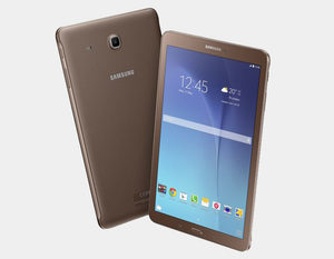 "Samsung Galaxy Tab E T561 WiFi + 3G 8GB/1.5GB 9.6"" GSM Factory Unlocked - Gold Brown- MyWorldPhone.com"