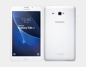 "Samsung Galaxy Tab J (2016) T285YD 8GB/1.5GB 7.0"" GSM Factory Unlocked - White- MyWorldPhone.com"