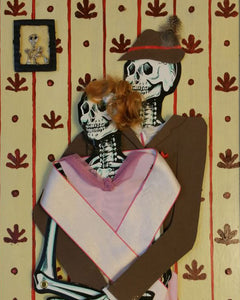 Skeleton Portrait No.1, Grandma and Grandpa