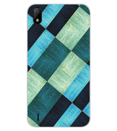 3D Tiles Back Cover for Lava Z41