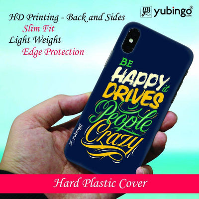 Be Happy Back Cover for Apple iPhone X
