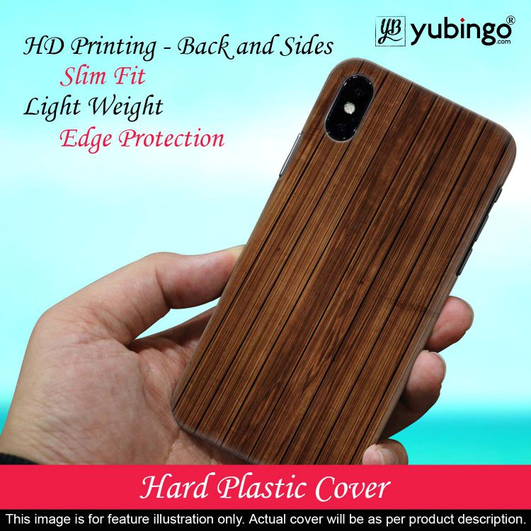 Printed Wooden Pattern Back Cover for Oppo A5 (2020)