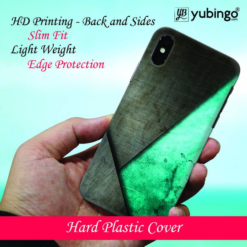 Grey and Green Back Cover for Samsung Galaxy M30