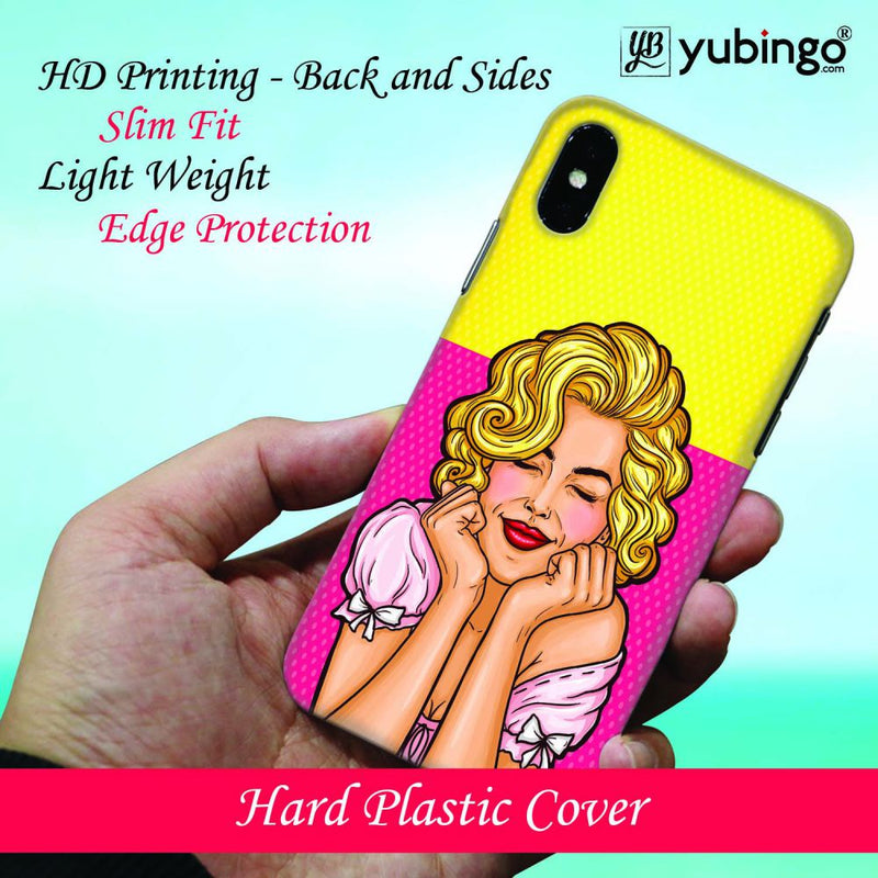 Peaceful Girl Back Cover for Samsung Galaxy A50