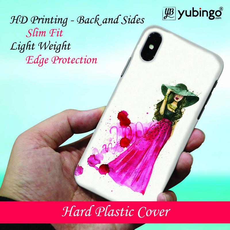 The Lady Back Cover for Samsung Galaxy S10 (6.1 Inch Screen)